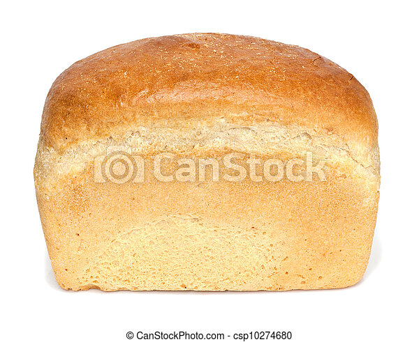 bread on a white background - csp10274680