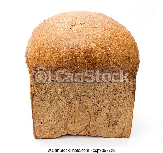 bread on a white background - csp9897728