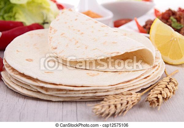 bread taco - csp12575106