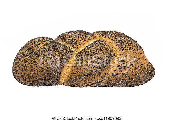 bread with poppy seeds - csp11909693