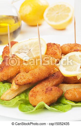 Breaded shrimp - csp15052435