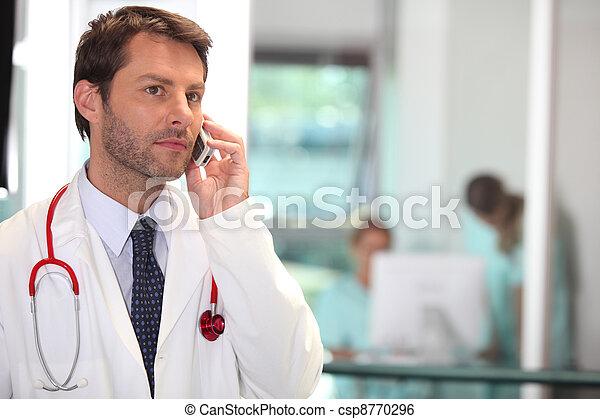 Break at the hospital - csp8770296
