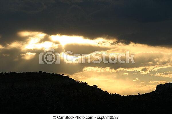 Break in Clouds - csp0340537