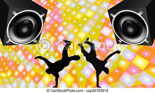 Breakdance - csp36783919