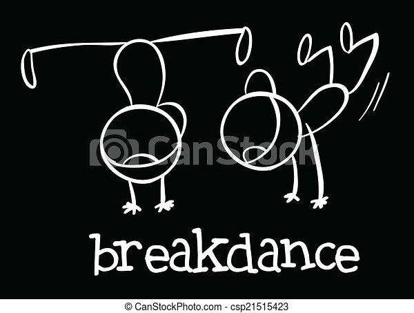 Breakdance - csp21515423