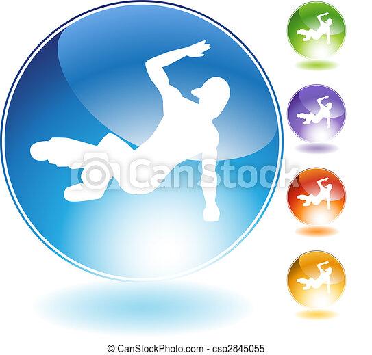Breakdancer Crystal Icon - csp2845055