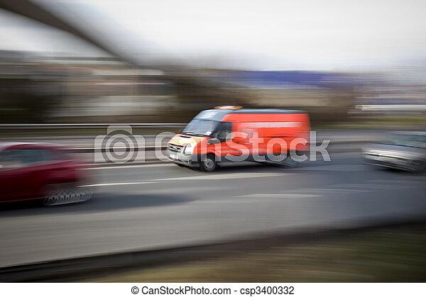 Breakdown Van - csp3400332