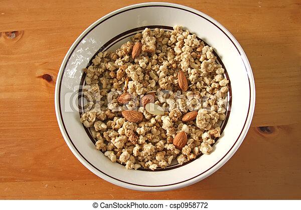 Breakfast cereal - csp0958772