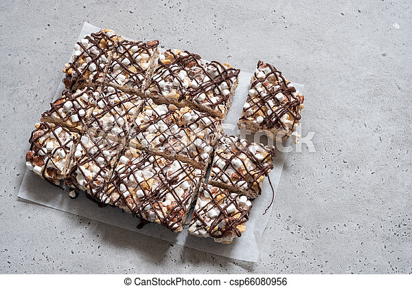 Breakfast cereal treat - csp66080956