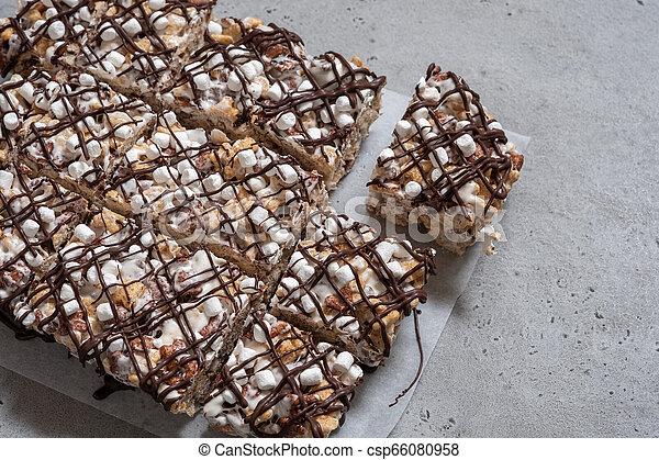Breakfast cereal treat - csp66080958