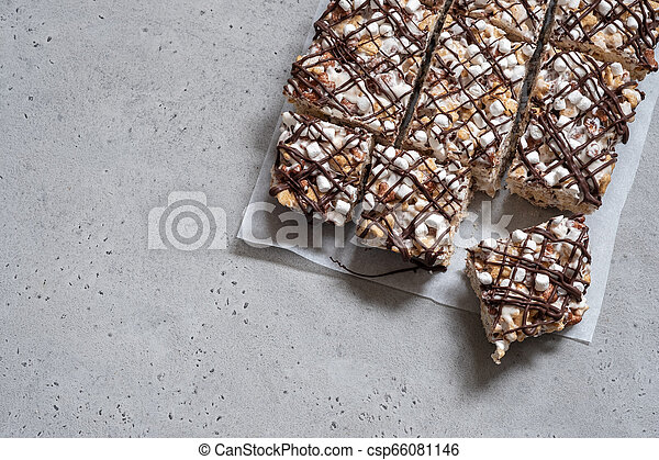 Breakfast cereal treat - csp66081146