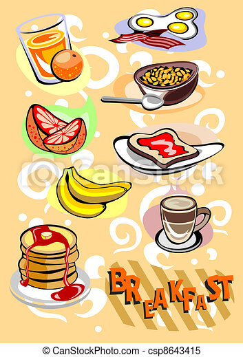 Breakfast - csp8643415