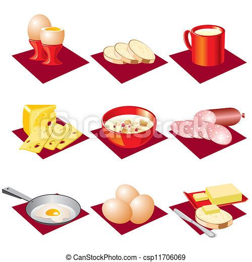 breakfast food - csp11706069