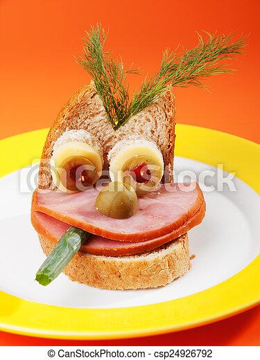 Breakfast for kids - csp24926792