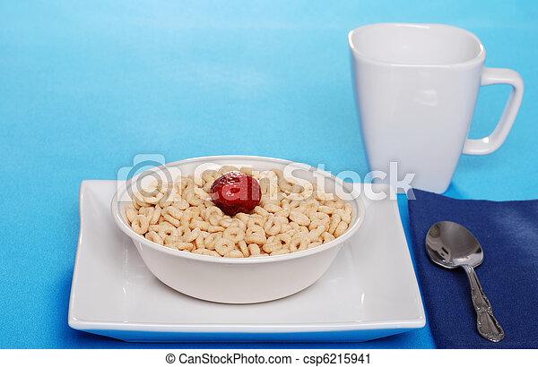 Breakfast of cereal - csp6215941