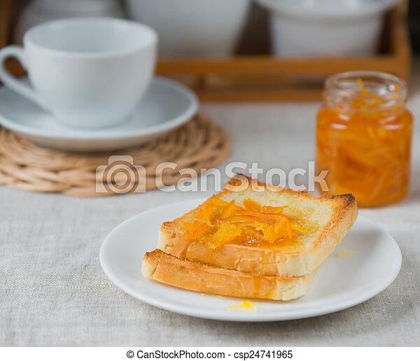 Breakfast scene - csp24741965