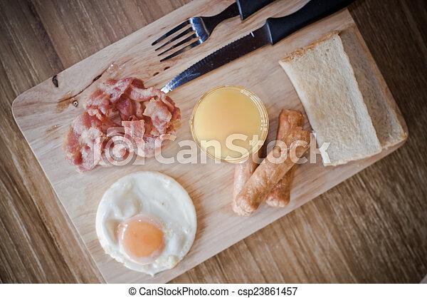 Breakfast - csp23861457