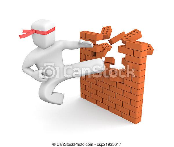 Breaking barriers - csp21935617