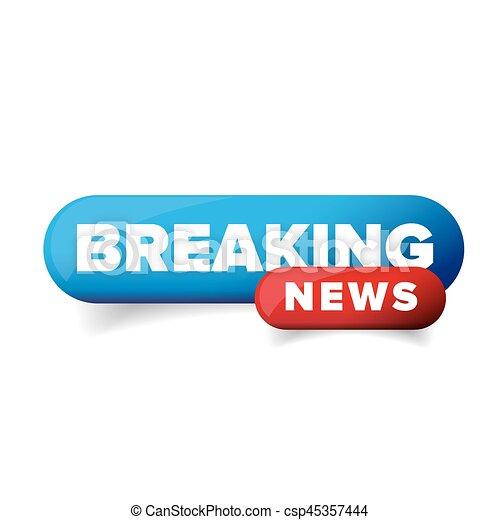 Breaking News Logo Vector