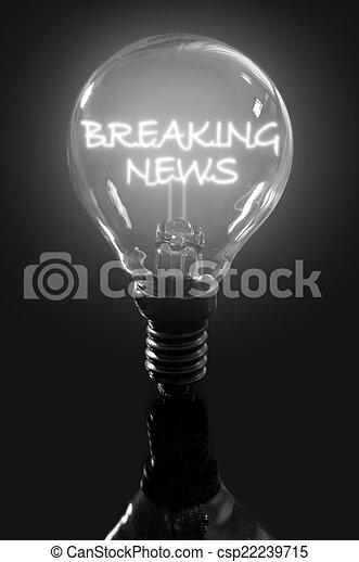 Breaking news  - csp22239715