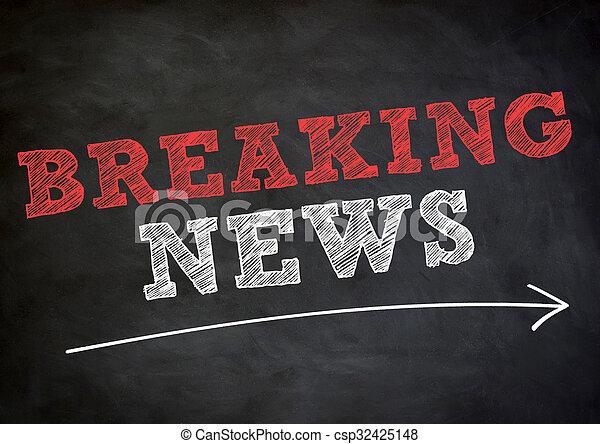 Breaking News - csp32425148