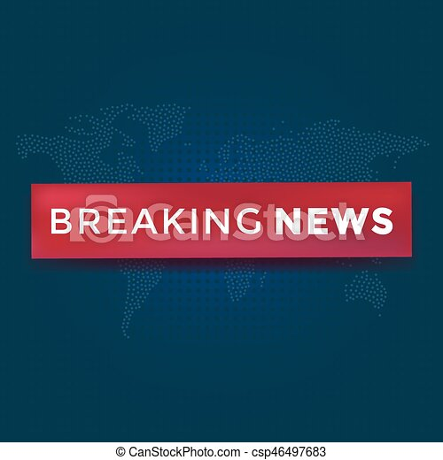 Breaking news with red ribbon on dotted world map vector breaking news with red ribbon on dotted world map background news background vector illustration gumiabroncs Image collections