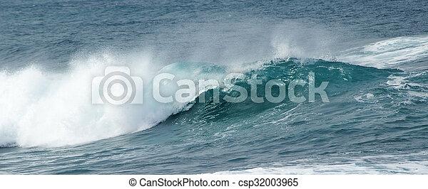 breaking ocean waves - csp32003965