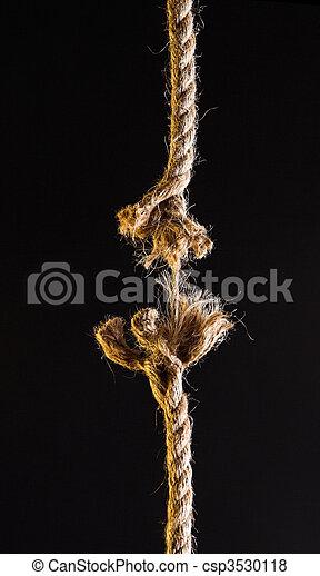 Breaking rope - csp3530118