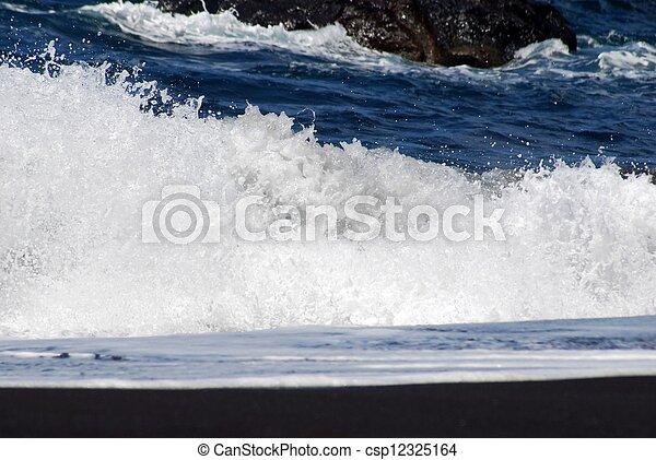 breaking wave - csp12325164