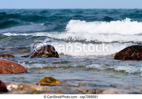 Breaking Waves - csp7068561