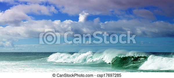 Breaking waves - csp17697285