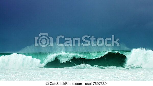 Breaking waves - csp17697389