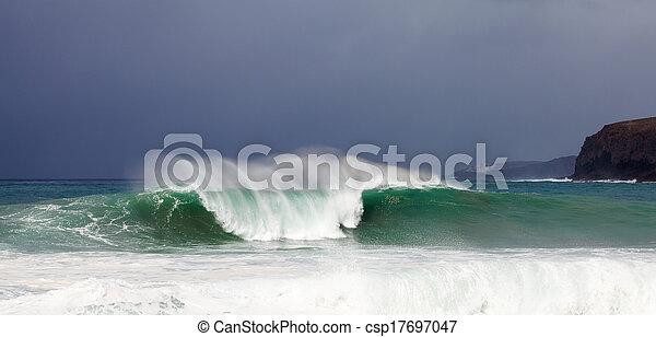 Breaking waves - csp17697047