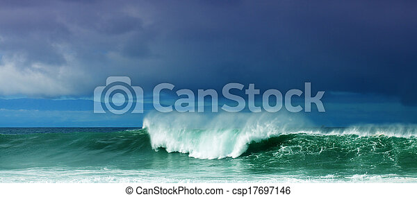 Breaking waves - csp17697146