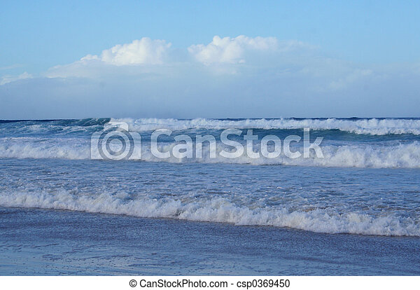 Breaking Waves - csp0369450