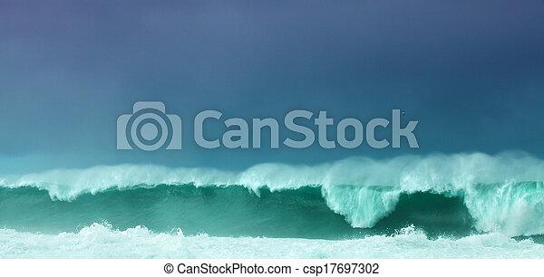 Breaking waves - csp17697302