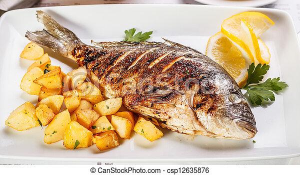 Bream fish - csp12635876