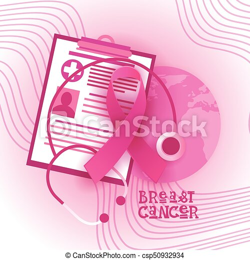 breast cancer awareness month pink ribbon symbol flat vector rh canstockphoto com national breast cancer awareness month clip art breast cancer awareness month 2017 clip art