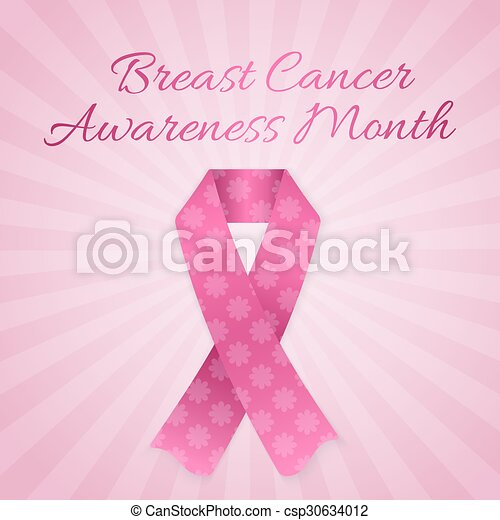 Breast Cancer Awareness month - csp30634012