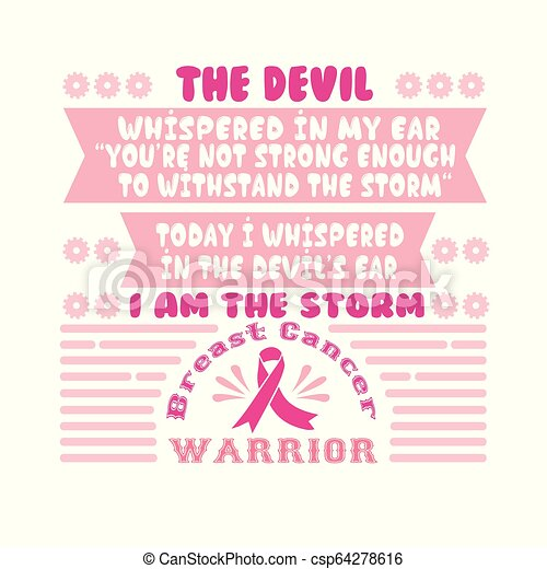 Breast Cancer Quote and Saying best for Graphic your Merchandise