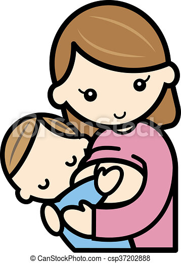 breastfeeding a scene of a breastifeeding stock illustration rh canstockphoto ie baby breastfeeding clipart breastfeeding clip art free