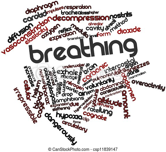 Breathing - csp11839147