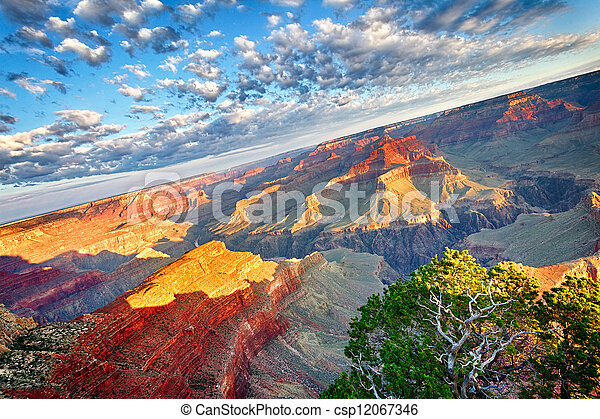 Breathtaking Grand Canyon - csp12067346