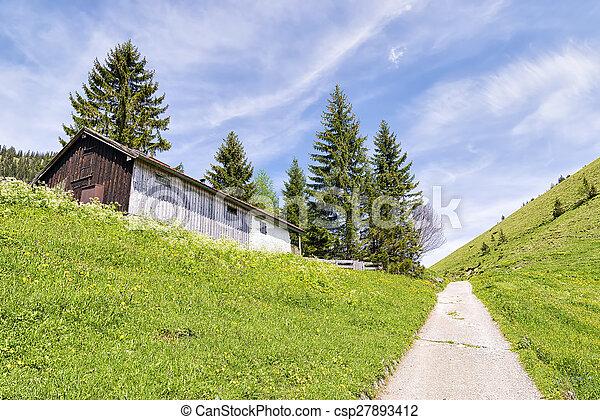 Breitenstein Bavaria Alps - csp27893412