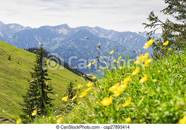Breitenstein Bavaria Alps - csp27893414