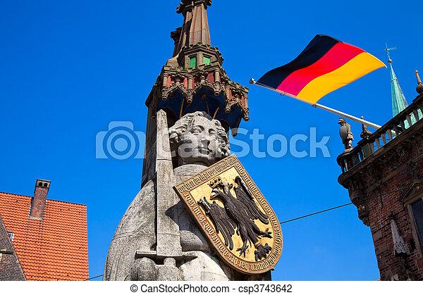 Bremen, Germany. - csp3743642