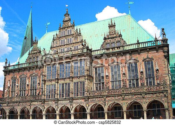 Bremen, Germany - csp5825832