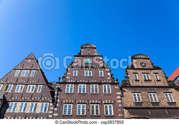 Bremen, Germany. - csp3837859