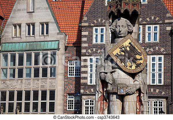 Bremen, Germany. - csp3743643