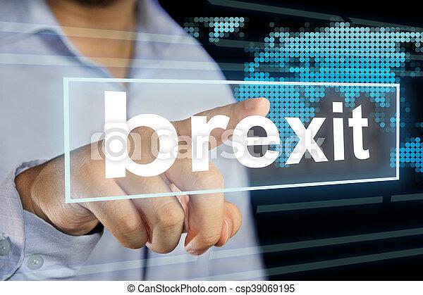 brexit, 概念, 問題 - csp39069195